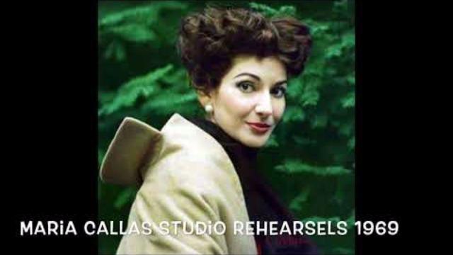 Maria Callas Studio Rehearsels 1969 - Vol. 3